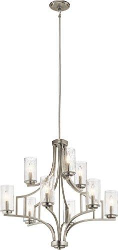 Kichler Lighting 44073NI Nine Light Chandelier from The Vara Collection -