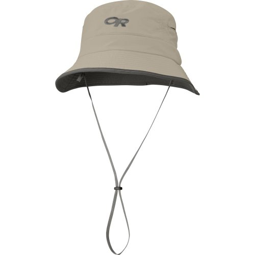 Outdoor Research Sombriolet Sun Bucket, Khaki, Large