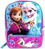 Fast Forward Disney Frozen Anna & Elsa Blue/Pink Backpack