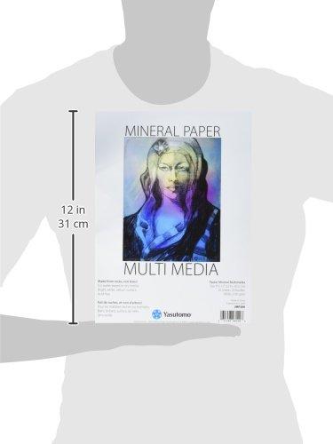Célèbre Amazon.com: Yasutomo JMP200 20 Sheet Multi-Media Mineral Paper Pad  MK37