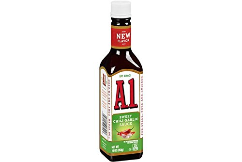 A1 Sweet Chili Garlic Sauce 10 Oz (Pack of 4) ()