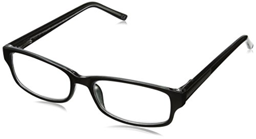 Foster Grant James Multifocus Glasses, Black, 2.5