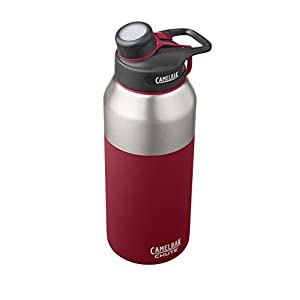 CamelBak Chute Vacuum Insulated Stainless Water Bottle, 40 oz, Brick