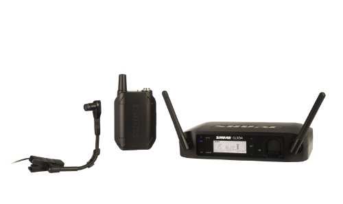 Shure GLXD14/B98 Digital Instrument Wireless System with Beta 98H/C Microphone, Z2 by Shure