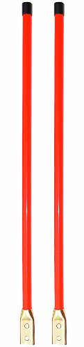 Buyers Heavy Duty Bumpy Sight Guide Rookie Poles (Set of 2)