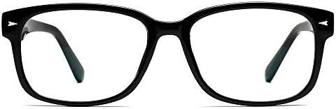 Cyxus Blue Light Blocking Glasses for Women Men UV Filter Anti Eyestrain Reading Gaming Eyeglasses
