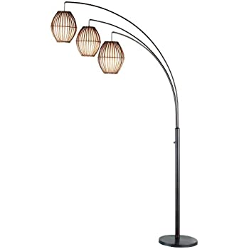 Adesso 4026 26 maui 82 arc 3 light floor lamp lighting fixture adesso 4026 26 maui 82 arc 3 light floor lamp lighting fixture mozeypictures Choice Image