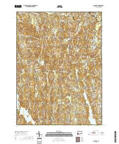 Botsford, Connecticut topo map by East View Geospatial, 1:24:000, 7.5 x 7.5 Minutes, US Topo, 22.8