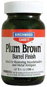 Birchwood Casey 14130 Plum Brown Barrel Finish, 5-Ounce