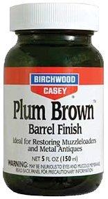 Birchwood Casey 14130 Plum Brown Barrel Finish, 5-Ounce