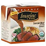 Imagine Organic Gravy, Savory Beef Flavored, 16 Oz. (Pack of 2)
