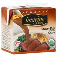 Imagine Organic Gravy, Savory Beef Flavored, 16 Oz. (Pack of 2) by Imagine Natural Creations