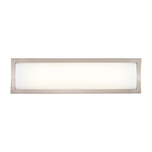 Philips Forecast F353036U Rene Bath Light, Satin Nickel (Fluorescent Bath Lighting)