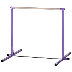 Nimble Sports Purple Junior Non Adjustable Horizontal Bar 4 Feet High Kip Bar