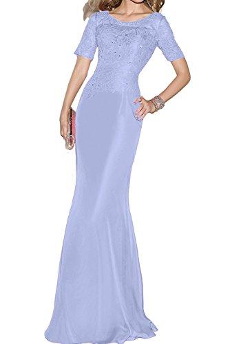 Abendkleider Partykleider Festlichkleider Spitze La Damen mia Braut Schwarz Lilac Brautmutterkleider Langes Schnitt Schmaler YY0qpw