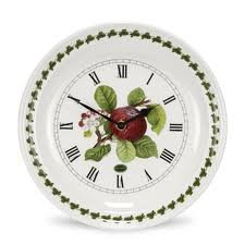 Portmeirion Pomona Red Apple Wall Clock 25cm Portmeirion Apple