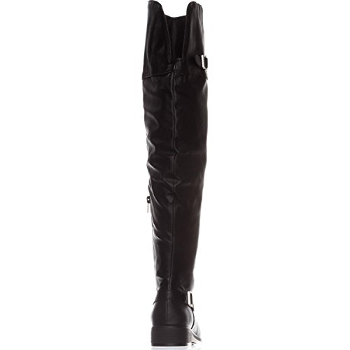 Over Black Adarra Knee Rag American The Microfiber Boots ZFEwpU4q