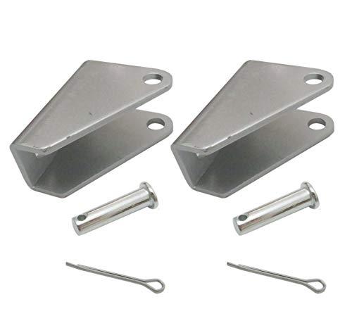 2pcs Heavy Duty Steel Mounting Bracket for Linear Actuator