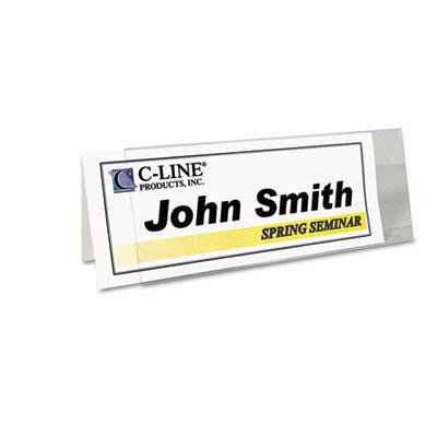 Printer-Ready Name Tent Cards, 4-1/4 x 11, White Cardstock, 50 Letter Sheets/Box