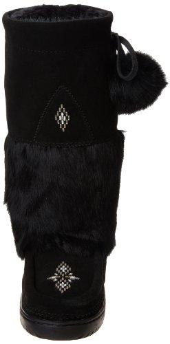 Winter Manitobah Mukluks Snowy Women's Boot Owl Black Mukluk AxX6xwqrp