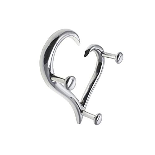 Charming Best Modern Style Heart Shaped Decorative Wall Coat Hanger By Comfify |  Hand Cast Aluminum