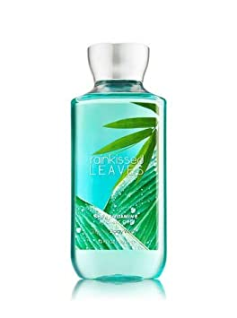 Bath Body Works Rainkissed Leaves Shower Gel Set of Three 10oz