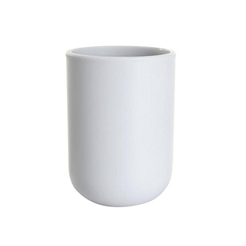 UVIVIU PP Tumbler Cup,Tooth-Brushing Cup for Bathroom 350ml(Grey Blue)