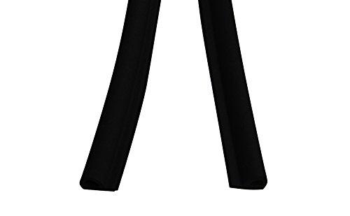 Stormguard 05sr034005mbl 5 m EPDM P Profil selbsthaftender Gummi Zugluftstopper –  Schwarz