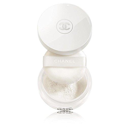 Leblanc De Chanel Sheer (CHANEL LE BLANC PEARL LIGHT BRIGHTENING LOOSE POWDER SPF 10 / PA+ SIZE 10G. #10 CRISTALLINE)