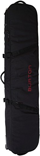 Burton Wheelie Board Case Snowboard Bag, True Black, Size 181