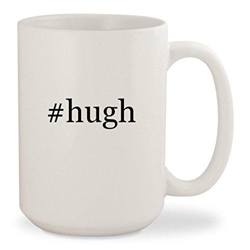 #hugh - White Hashtag 15oz Ceramic Coffee Mug - Facebook Robert Hughes