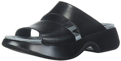Dansko Women's Lana Slide Sandal, Black Full Grain, 39 M EU (8.5-9 US) by Dansko
