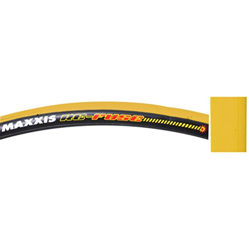 Maxxis Re-Fuse Tire, 700 x 23c, Folding, Yellow/Black (Tire Kevlar Belted)