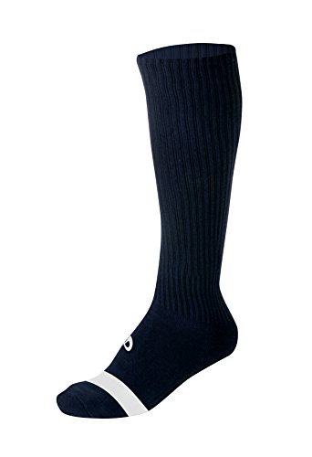 "Phiten Knee High Performance Knee High Socks, Black, 11""-13"""
