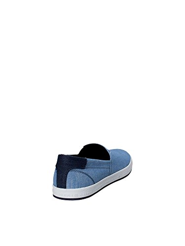 Denim Azul Slip Hilfiger on Zapatillas Tommy Zapatillas HXUYw