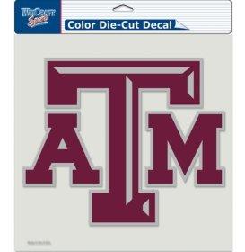 NCAA Texas A&M Aggies Die-Cut Color Decal, 8