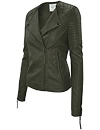 Amazon.com: Greens - Leather & Faux Leather / Coats, Jackets ...