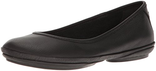 Camper Women's Right Nina K200387 Ballet Flat, Black, 40 EU/10 M US