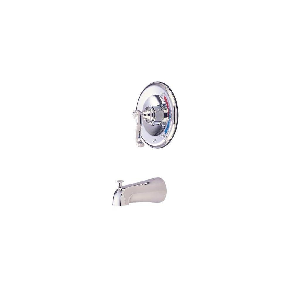Elements of Design EB8638FLTO Atlanta Single Handle Tub Faucet, Satin Nickel