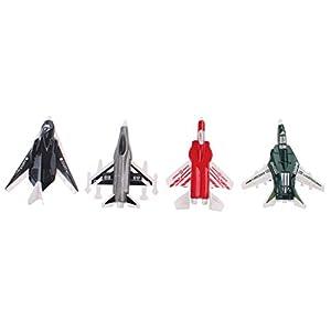 UMKYTOYS 4 Diecast Aeroplane M...