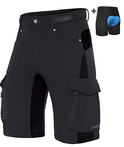 Wespornow Men's-Mountain-Bike-Shorts MTB Shorts