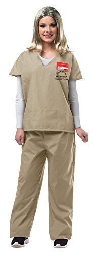 Rasta Imposta Women's Prisoner Suit, Beige, -