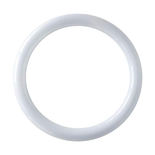 T9 LED Circline Light Bulb, 12 Inch 2500LM LED Circular Ceiling Light, 22W 6000K Daylight Replacement for 32W Circular Fluorescent Light Bulb(FC12T9/CW), Ballast Bypass Required ()