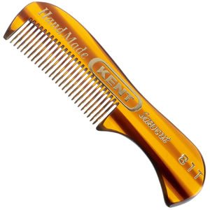 Kent - 73 mm Fine Toothed Moustache and Beard Comb Model No. 81T, 7.75 cm L