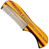 Kent A 81T - Extra Small Men's Mustache and Beard Comb (100 Pack)