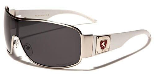 Premium Polarized Men's Shield Retro Aviator - Aviator Polarised Sunglasses