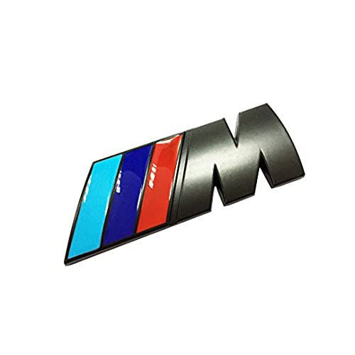 Dian bin colorful flag black m matte metal sticker vehicle logo emblem for bmw available
