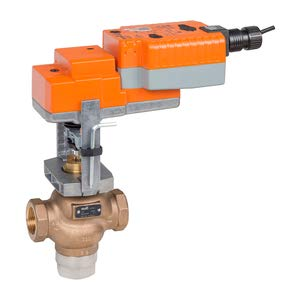 G325B-L+SVKB24-SR Globe Valve | 1'' | 3 Way | 14 Cv | w/Electronic Fail-Safe | 24V | Modulating