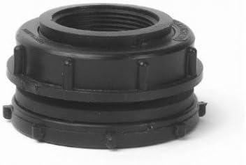 """Black Color 1 1//4/"""" Inch Bulkhead Tank Fitting Winnipeg LTD"""