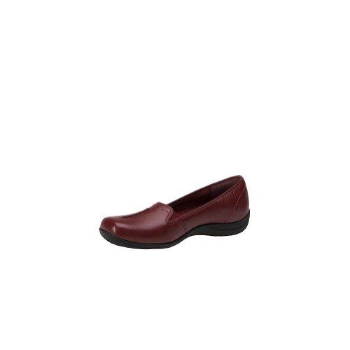Easy Street Women's Purpose Slip-On Shoes, Cranberry, 6.5 M/B
